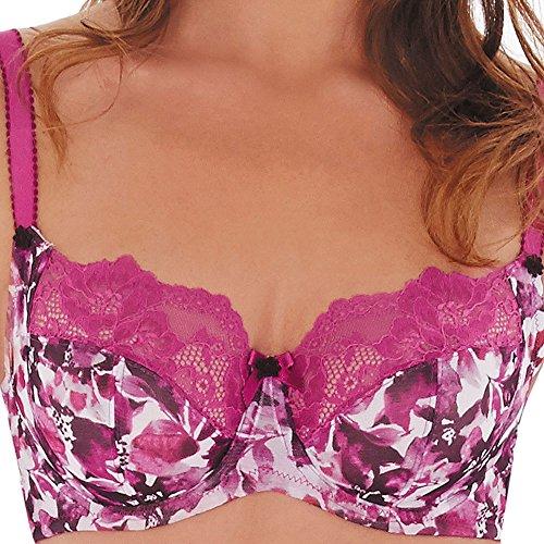 Charnos Violet Balcony Bra 47804 Raspberry 32C