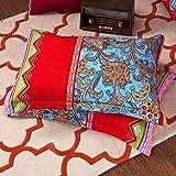 AShanlan Bohemian Kissenbezug 40 x 80 2er Set Indisch Boho Stil Exotische Muster 120GSM Mikrofaser...