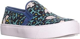 Coach Cameron Womens Aqua Blue/Multi Slip On Loafer Shoes