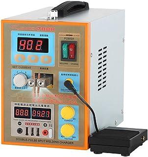 Hanchen Soldadora Máquina de Soldar 1.5kw Equipo de Soldadura Digital Soldador Multifuncional Portátil USB Double