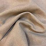 Kt Kilotela Polsterstoff, einfarbig, Panama-Baumwolle,