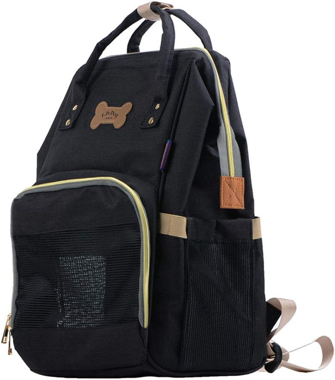 Cat bag dog out portable Simple breathable shoulders portable cage pets outside chest bag large space pet