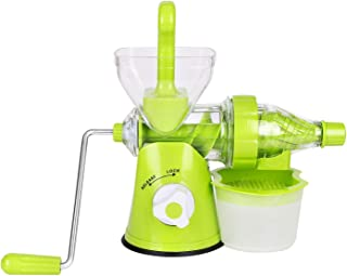 K Kwokker Masticating Juicer Juice Extractor Multifunction Portable Easy Cleaning Vertical Juicing Machine for Fruits, Vegetables and Herbs Health and Fitness