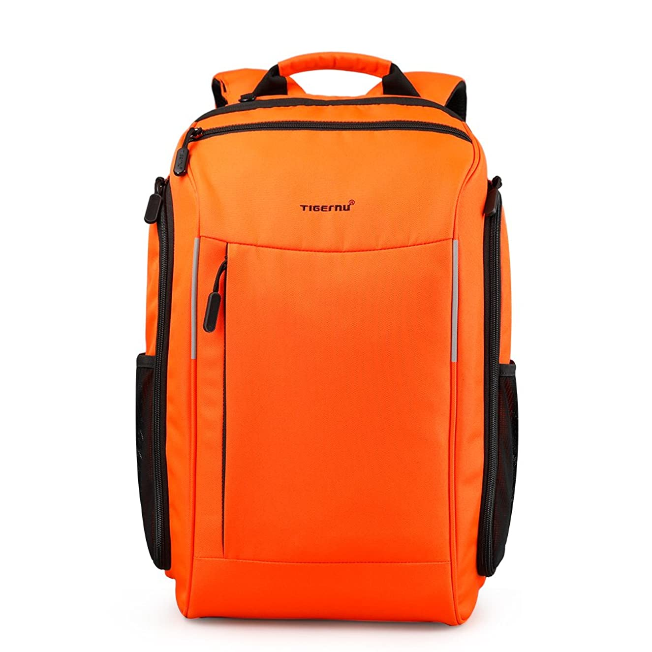 Tigernu Professional Laptop Backpack Computer Knapsack,Rucksack Hiking Bags Waterproof Outdoor Daypack Fits Up to 15.6 Inch Laptop(Orange)