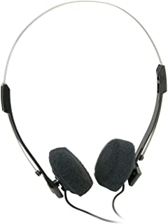 PARTS EXPRESS Mini Stereo Lightweight Headphones with 4 ft. Cord