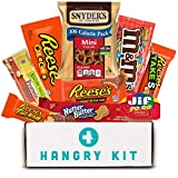 Blue HANGRY KIT - Peanut Butter Delight Kit - Great Gift - Care Package - Snack Pack - Filled with 9 Peanut Butter items that will satisfy your Peanut Butter Craving!!