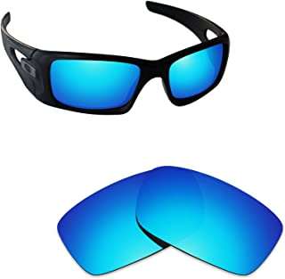 Alphax Ice Blue Polarized Replacement Lenses for Oakley Crankcase OO9165