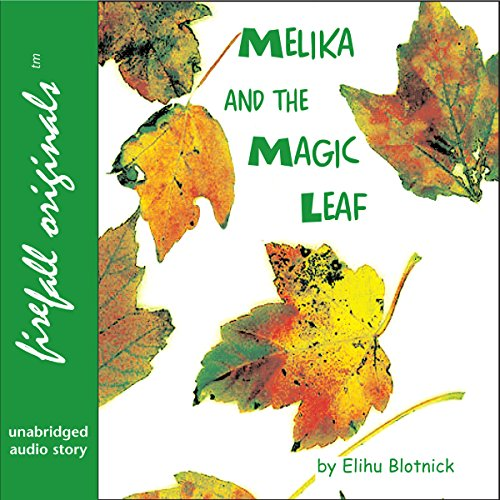 Melika and the Magic Leaf audiobook cover art