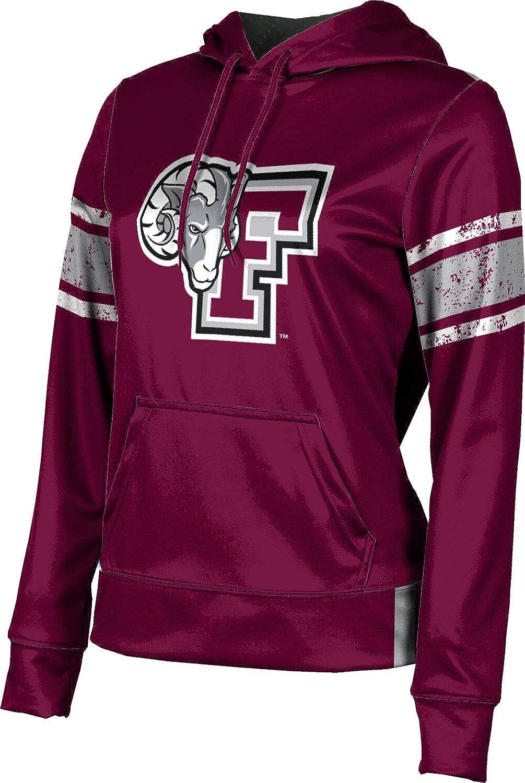 ProSphere Fordham University Girls' Pullover Hoodie, School Spirit Sweatshirt (End Zone)