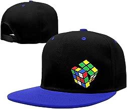 Unisex Adjustable Snapback Rubix Cube Trucker Hats RoyalBlue One Size