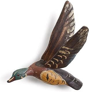 Grandpa's Attic Wall Mounted Duck Decoy, Flying Wood Duck