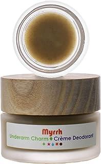 Living Libations - Organic/Wildcrafted Myrrh Underarm Charm Cream Deodorant (6 ml)
