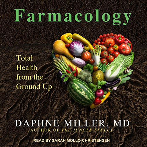 Farmacology audiobook cover art