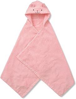 [ベルメゾン] ベビー用タオル 今治産 バスポンチョ 日本製 うさぎ