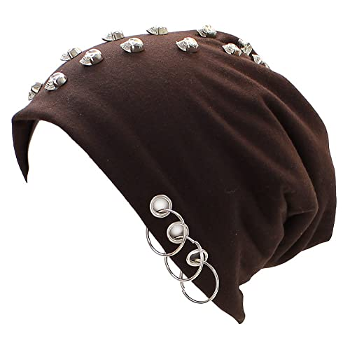 Size:One Size Spiral Direct Catacomb-Light Cotton Beanies Black One