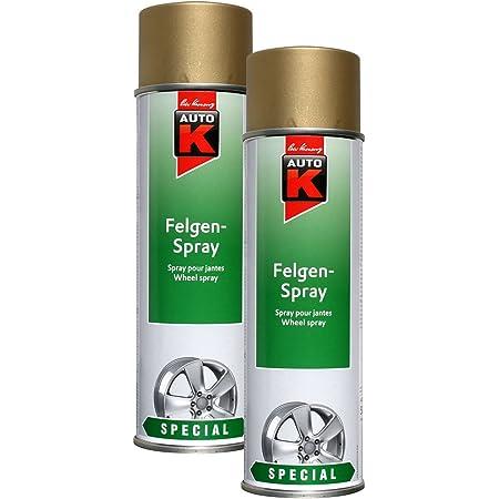 Kwasny 2x 633 038 Auto K Special Felgen Spray Gold 500ml Auto