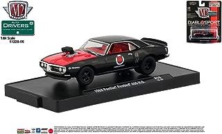 M2 Machines Auto-Drivers 1:64 R56 1968 Pontiac Firebird (DIABLOSPORT)