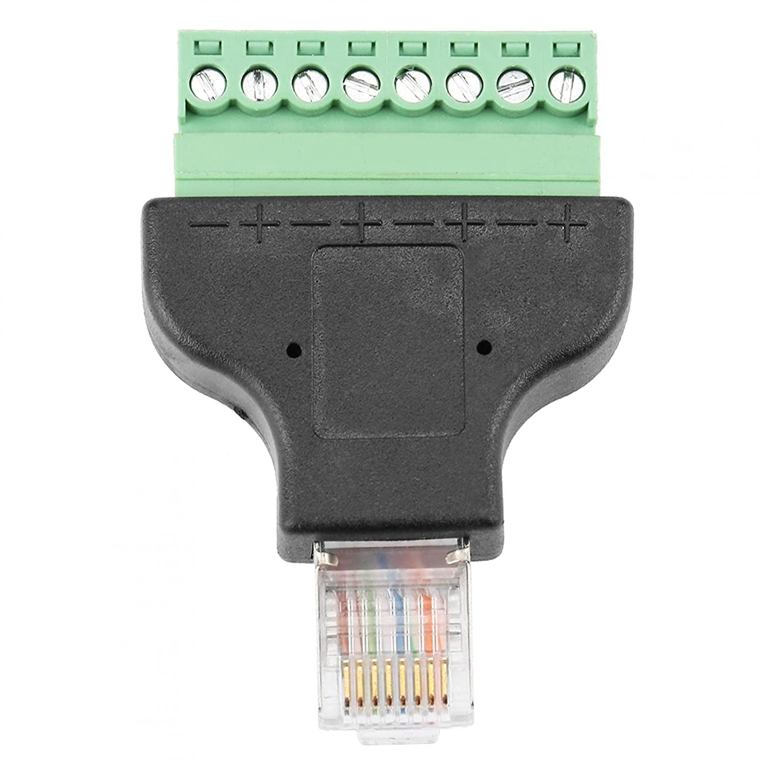 Network Interface Sale price Head Plug Connector 8-pin Ethernet 8C Animer and price revision 8P