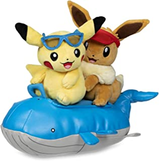 Pokemon Plush Seasonal Celebrations - Pikachu & Eevee Summer Days
