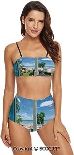 SCOCICI Bikini Swimsuit Swimwear Fresh Organic Fall Literature Fragrance Herbs
