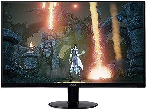 "Acer SB270 Bbix  27"" Full HD (1920 x 1080) IPS Ultra-Thin Zero Frame Monitor with AMD Radeon FREESYNC Technology - 1ms | 75Hz Refresh (HDMI & VGA ports)"
