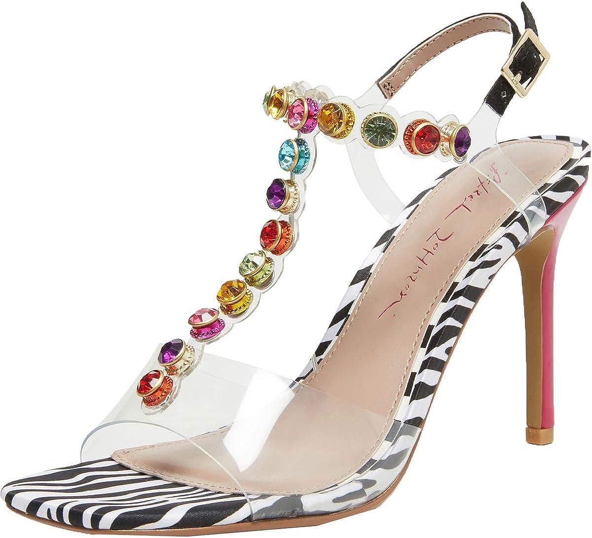 Betsey Johnson Women's Camila Heeled Sandal