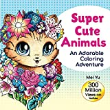 Super Cute Animals: An Adorable Coloring Adventure: Cute, Kawaii, Chibi Animal Coloring Book for Girls, Teens, Kids, & Adults with Relaxing Coloring ... Relief (Mei Yu's Inspiring Coloring Books)
