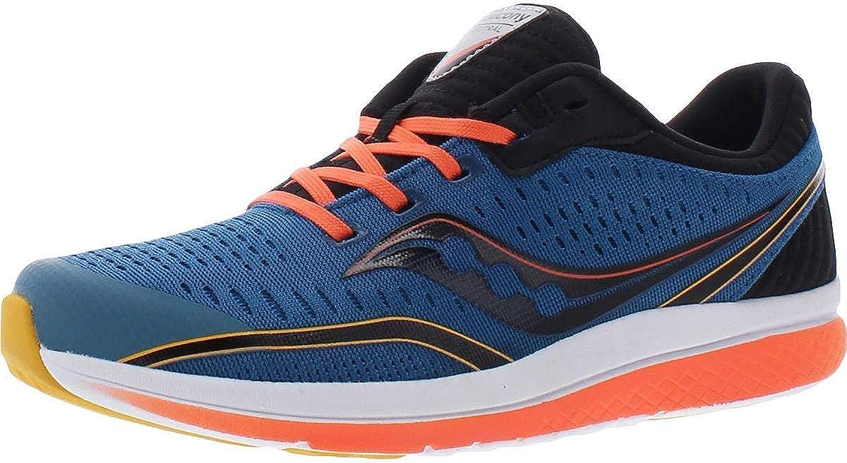 Saucony Boys S-Kinvara 11 Youth Fitness Sneakers Blue 5.5 Medium (D) Big Kid
