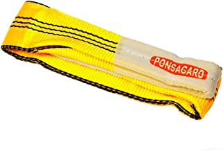 3t-4m. Platte hijsband met lusssen 3000kg - 4m. met PONSAGARD behandeling– anti-insnijden en antiwrijving - 030191004108