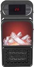 Chauffage de l'espace électrique portable Mini Flame Chauffe 900W Plug utile dans l'espace Chauffage de l'espace Ventilate...