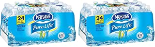 Nestlé Pure Life bxxaHw Bottled Purified Water, 16.9 oz. Bottles, 24 Count (Pack of 2)