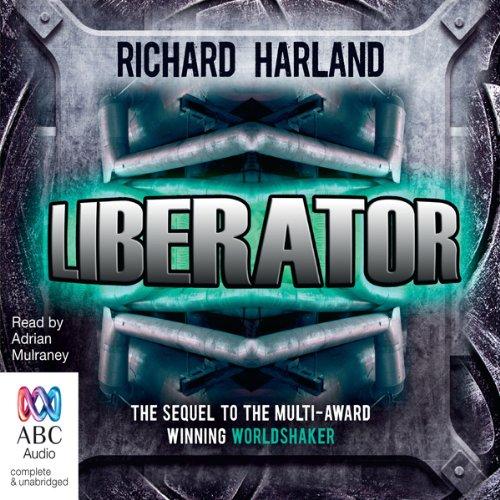 Liberator audiobook cover art