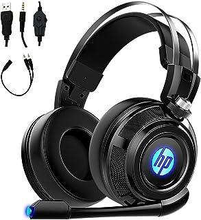 HP Audífonos estéreo con Cable para Juegos con micrófono de