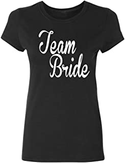 black bridesmaid shirts
