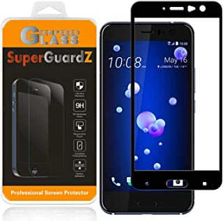 [2-Pack] HTC U11 Screen Protector Tempered Glass [Full Coverage], SuperGuardZ, Edge-to-Edge, Anti-Scratch, Anti-Bubble [Li...
