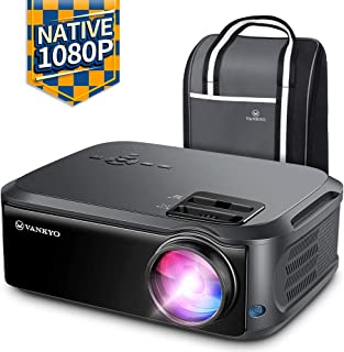 VANKYO Performance V620 Native 1080P Projector, with 5500 Lux 200