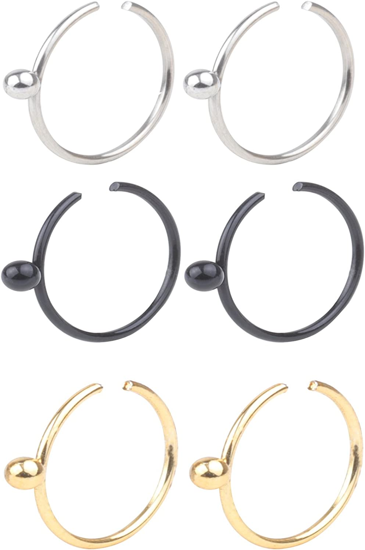 New arrival Z2Z 16G New product type Unisex Horseshoe Hoop Helix Circula Septum Ear Cartilage