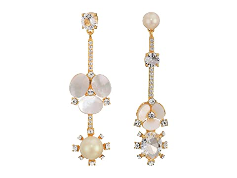 Kate Spade New York Disco Pansy Statement Mismatch Earrings