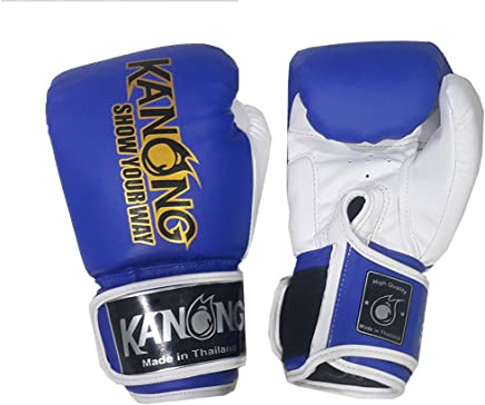 Kanong Muay Thai Kick Boxen Kids Boxhandschuhe Boxhandschuhe Boxhandschuhe   KN-Kids-Boxhandschuhe-Blau-6 Oz. B079YTVPG7   | Vorzugspreis  bb47cb