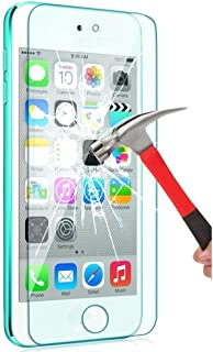 iPod Touch Screen Protector, VL [Tempered Glass] for Apple iPod Touch 6th, 5th Generation, [Scratch Resist] [Bubble-Free] 0.2mm Ultra Thin 9H Hardness High Definition Premium Tempered Glass (1 Pack)