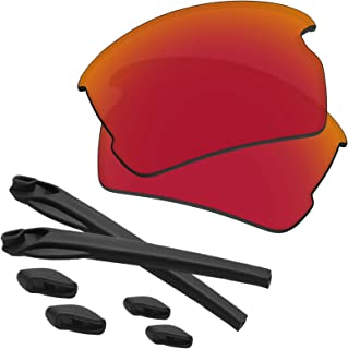 Flak 2.0 Lenses & Rubber Kits Replacement for Oakley OO9295 Polarized