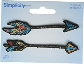 Wrights Rustic Arrows Iron-On Appliques 2/Pkg