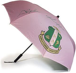 Pink Inverted Crest Sorority Umbrella