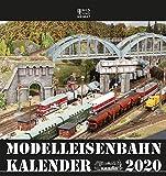 Modelleisenbahnkalender 2020: 60 Jahre Modelleisenbahnkalender - Helge Scholz