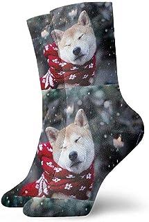 iuitt7rtree Calcetines suaves para todas las estaciones para calcetines para perros adultos