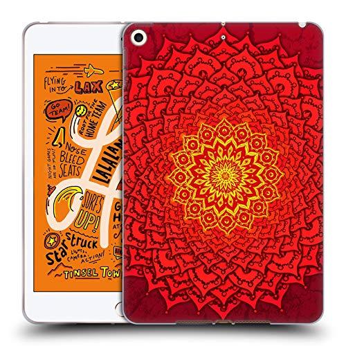Head Case Designs Licenciado Oficialmente Peter Barreda Rosetree de Okshirahm Mandalas de espíritu Luminoso Carcasa de Gel de Silicona Compatible con Apple iPad Mini (2019)