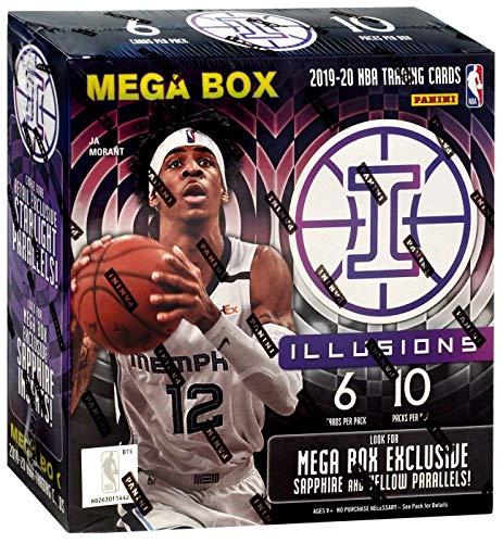 2020 Panini Illusions NBA Basketball MEGA box - 60...