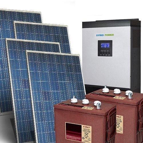 Kit Solar Casa Pro 6Kw 48V Sistema fotovoltaico independiente en la isla