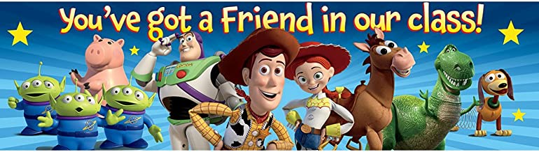 "Eureka Toy Story Classroom Banner, You've Got A Friend, 12 x 45"""""
