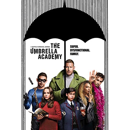 motivo SANDYN Poster su tela The Umbrella Academy